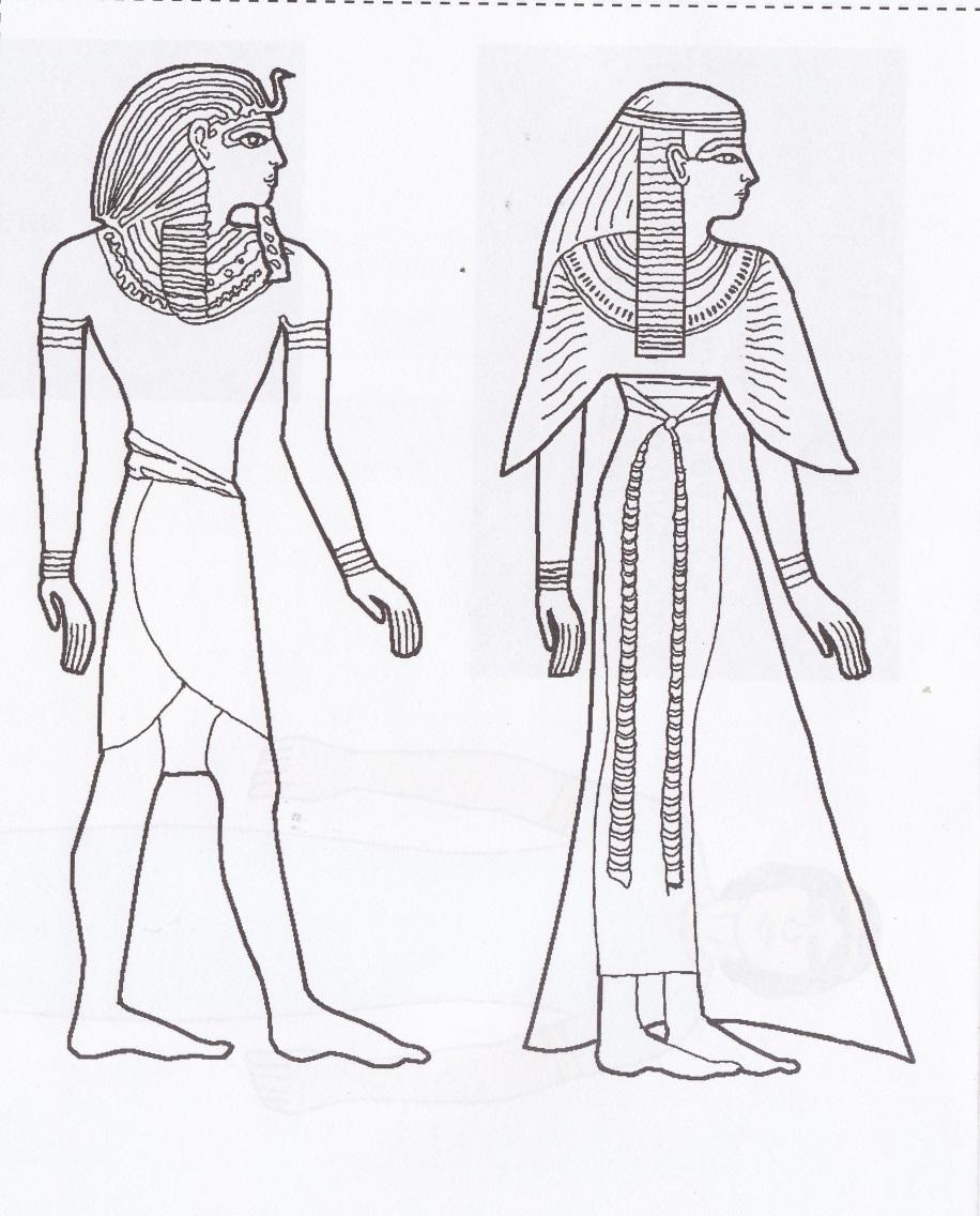 Одежда древних египтян картинки