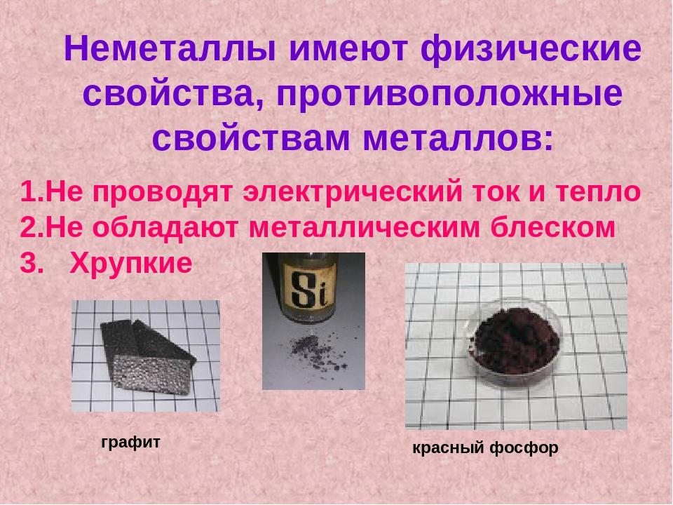 Металлы и неметаллы картинки