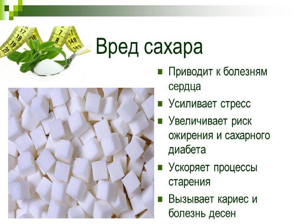 Знакомство с сахаром