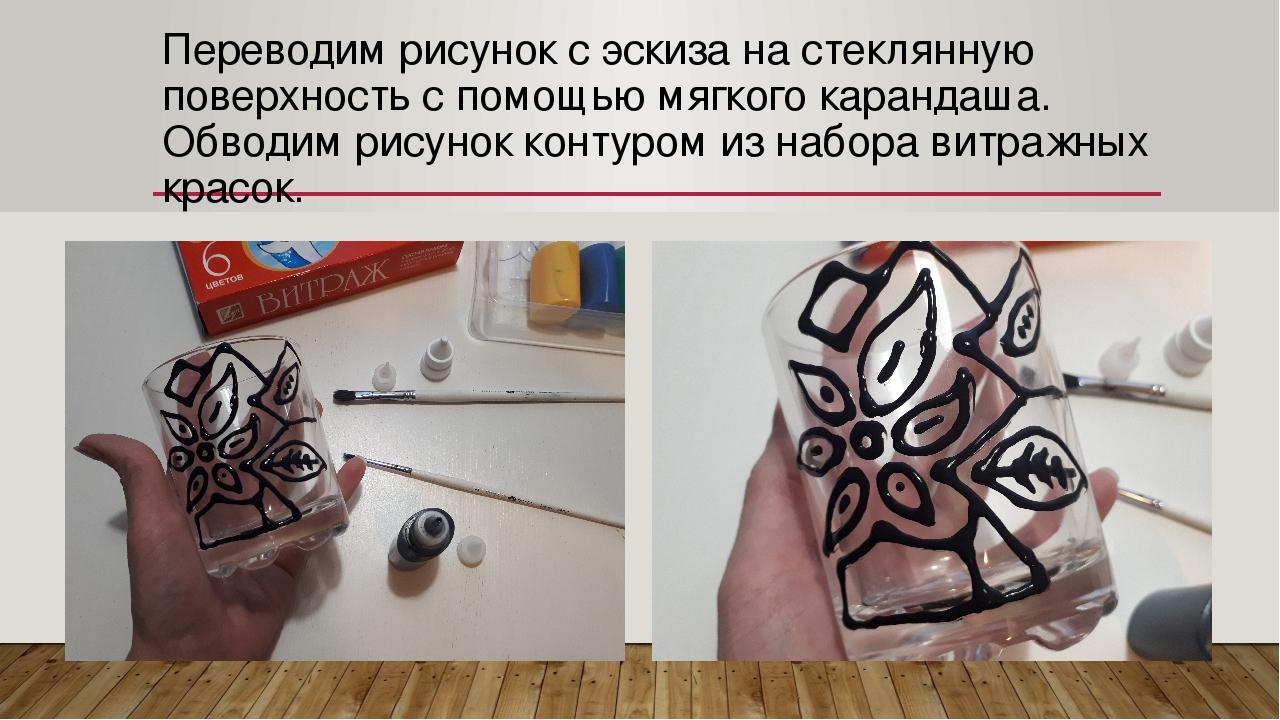 Перевод изображений на стекло