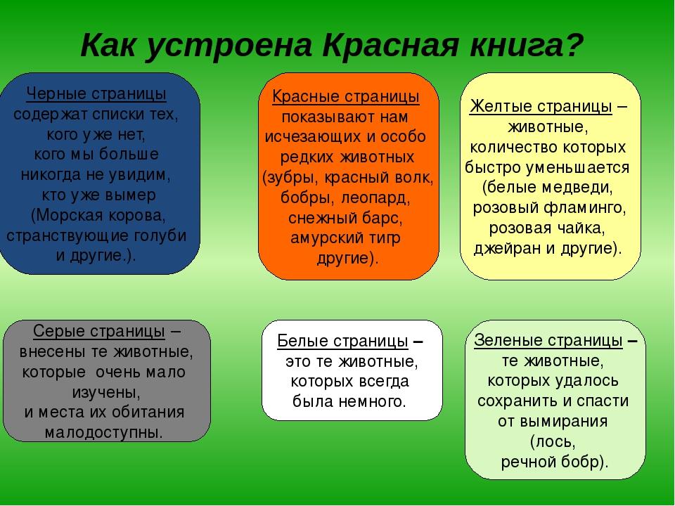 древних страницы красной книги россии что означает каждый цвет презентация сочные