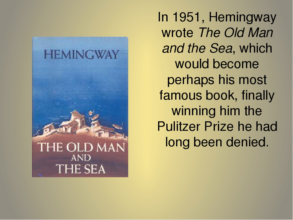 a luck runs out in the old man and the sea by ernest hemingway The old man and the sea was the last major work ernest hemingway published in his lifetime the simple story is about an old man who catches a giant fish in the waters off cuba, only to have it.