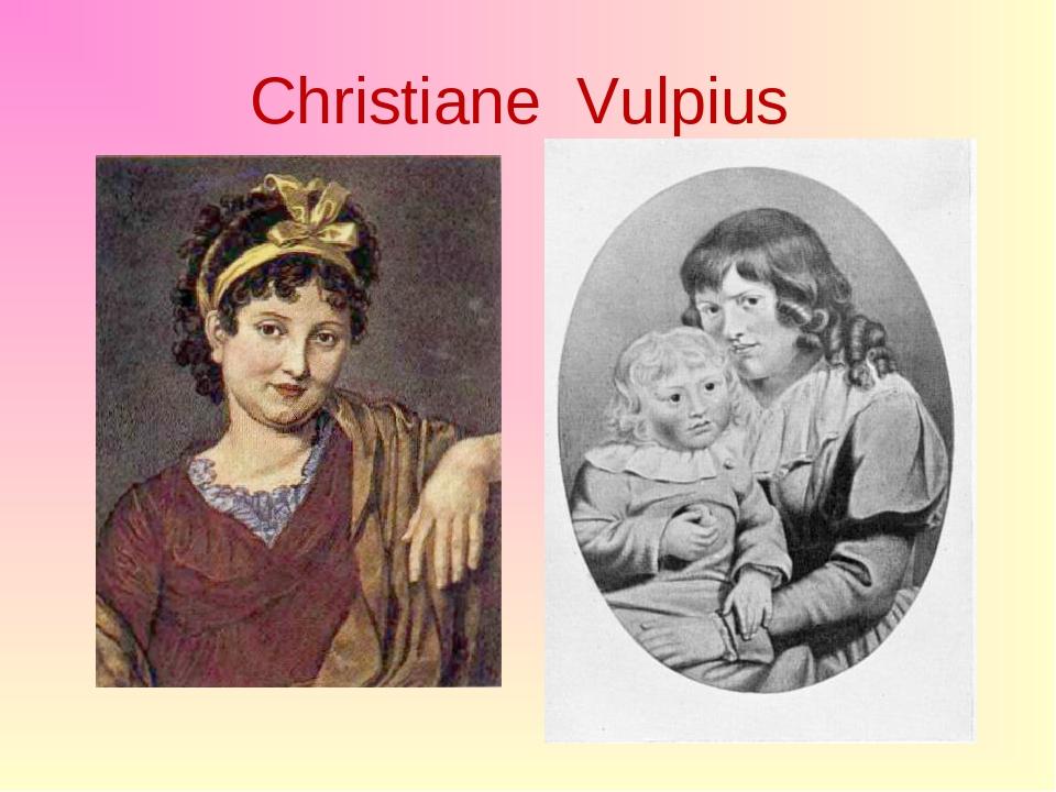 Christiane Vulpius
