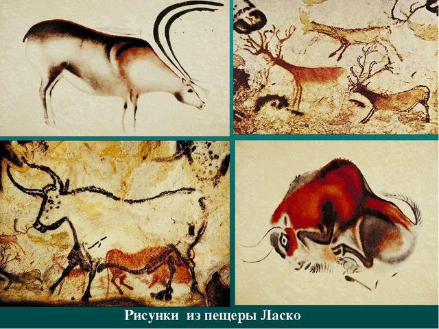 Рисунки из пещеры Ласко
