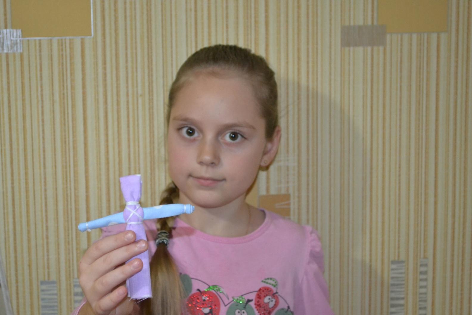 Информационно-практический проект - Куклы-обереги в жизни людей