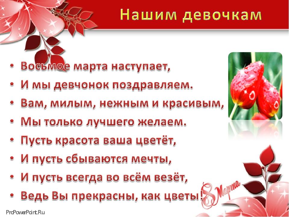 Шоколадницы, поздравления с 8 марта девочки