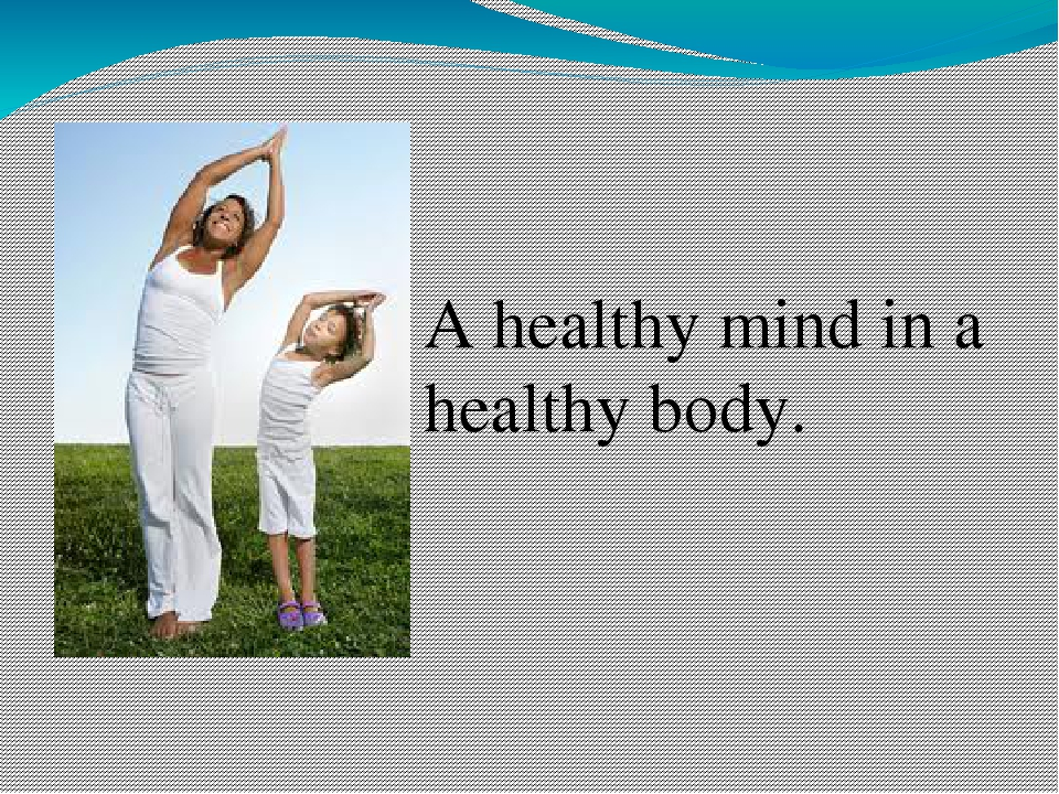 essay on healthy mind and healthy body A healthy body shares some common causes with a healthy mind the process of pursuing a healthy body requires good discipline it's easy to exercise for one day, but one must endeavor to keep exercising to stay in a physically healthy condition.