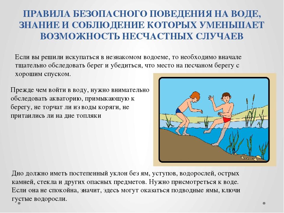 правила поведения на море картинки вещества нужны для