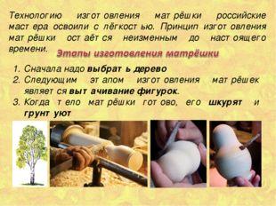 Технологию изготовления матрёшки российские мастера освоили с лёгкостью. Прин
