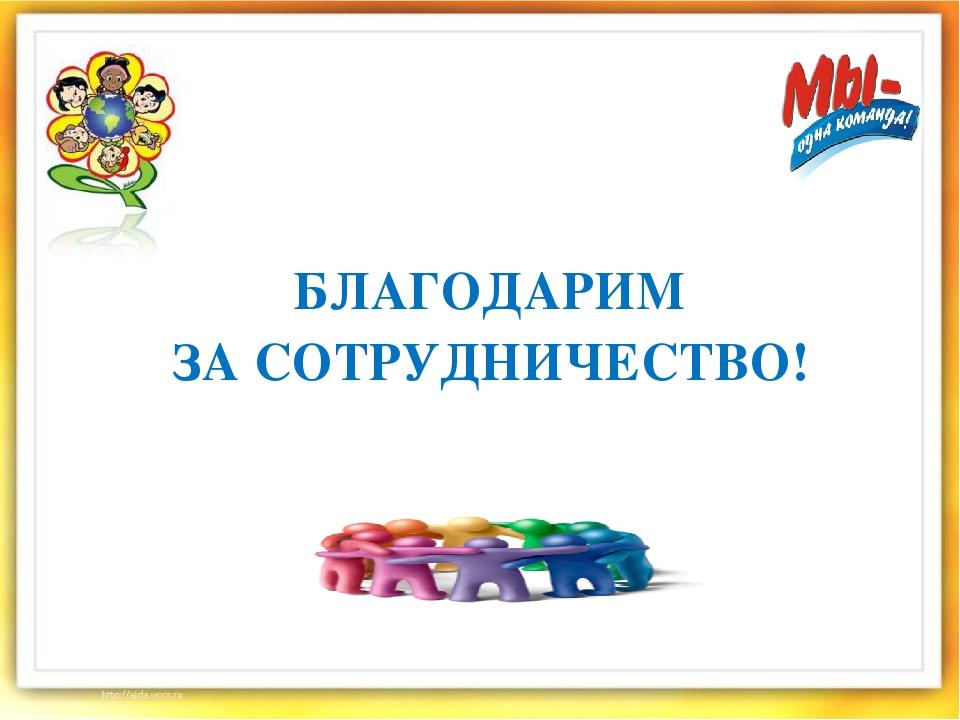 Днем, открытки благодарим за сотрудничество