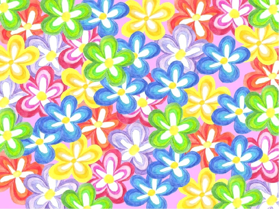 открытку можно цветочная поляна рисунки картинки фото