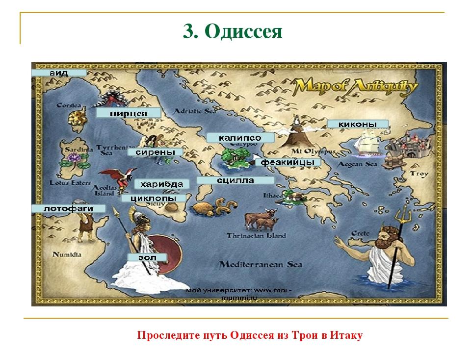 odysseuss journey