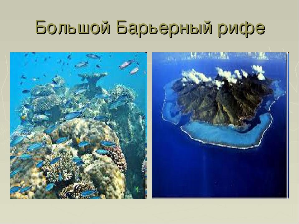 Большой Барьерный рифе