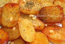 Как запечь картошку в духовке с майонезом и чесноком рецепт с