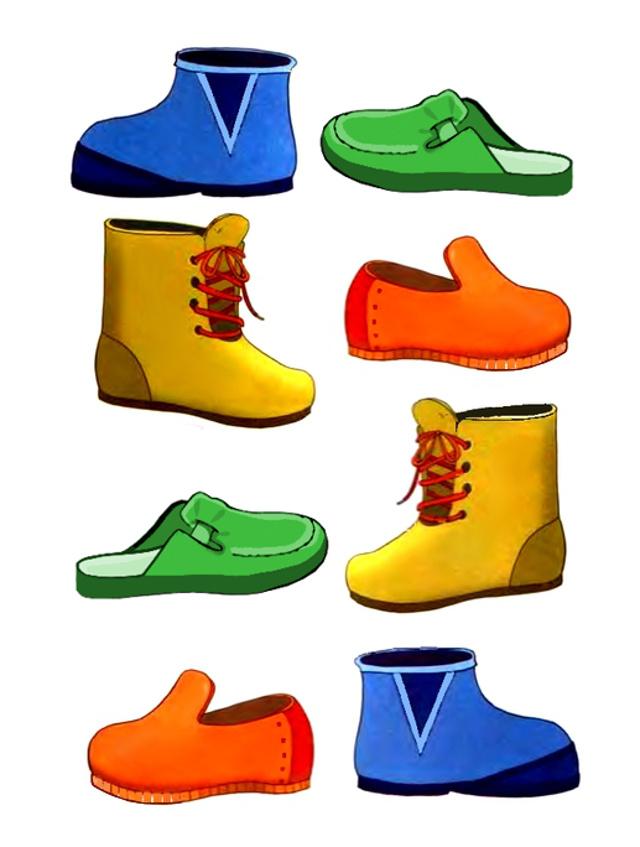 занятие в средней группе одежда и обувь