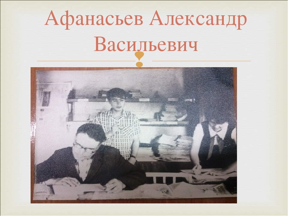 Афанасьев Александр Васильевич
