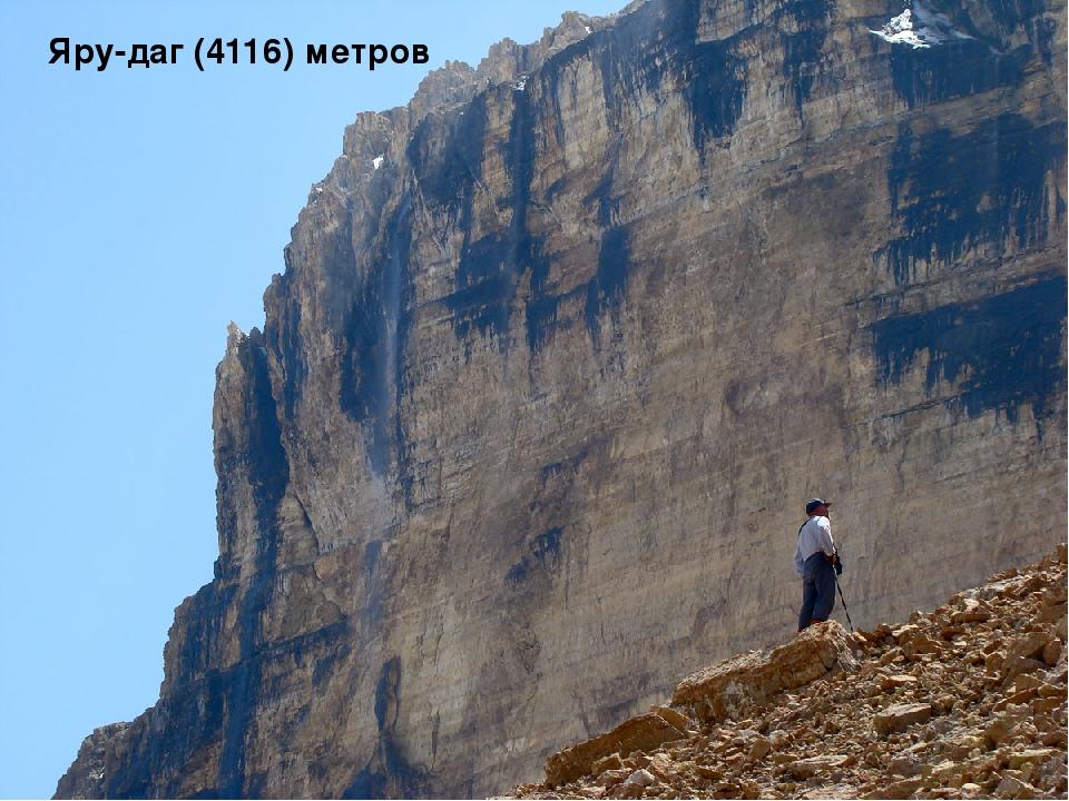 Яру-даг (4116) метров