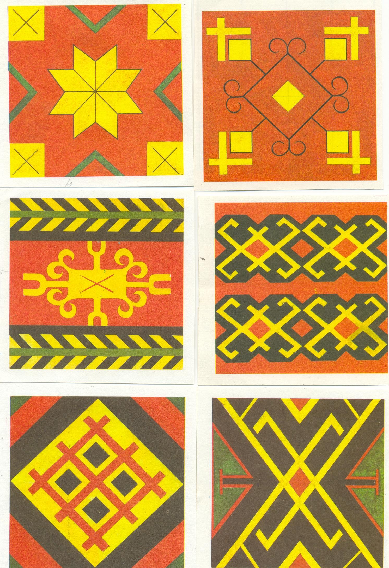 Башкирские орнаменты и узоры картинки в старшей группе