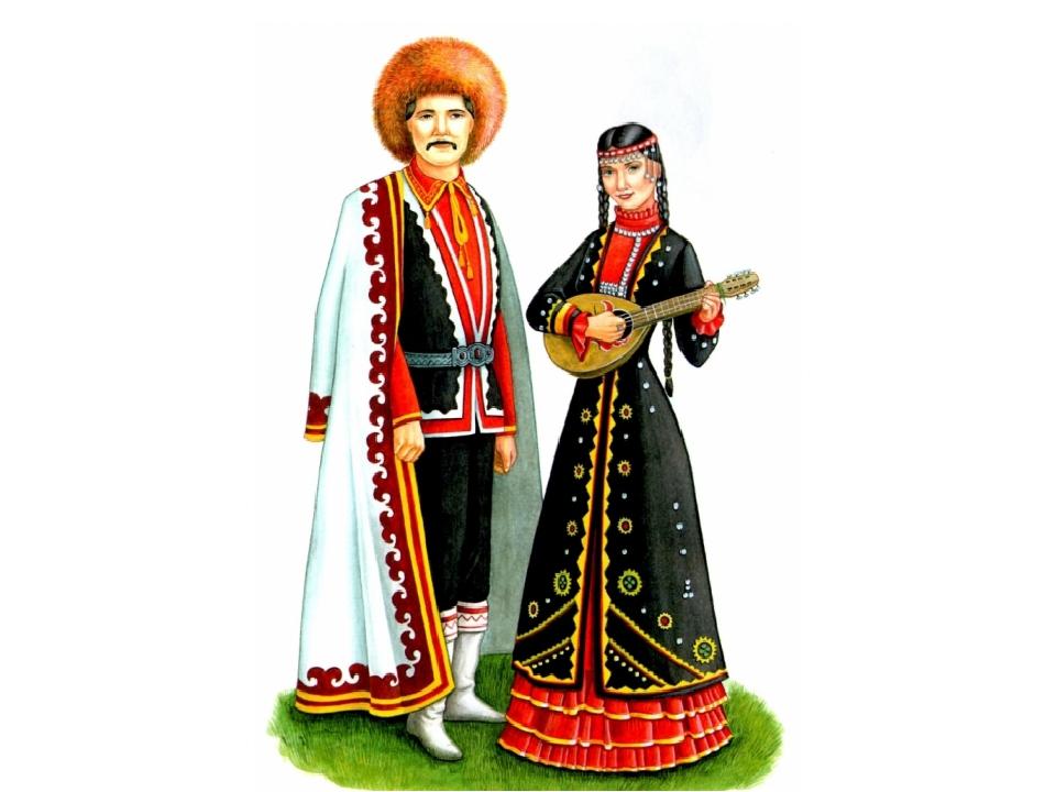 Национальные костюмы народов в картинках