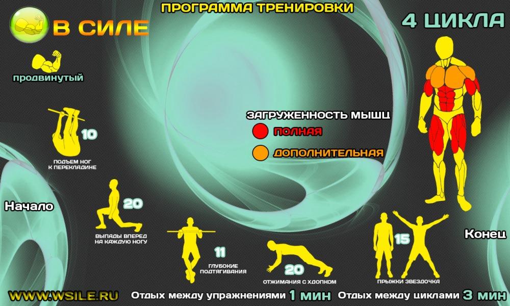 Круговая тренировка в домашних условиях реферат 9388