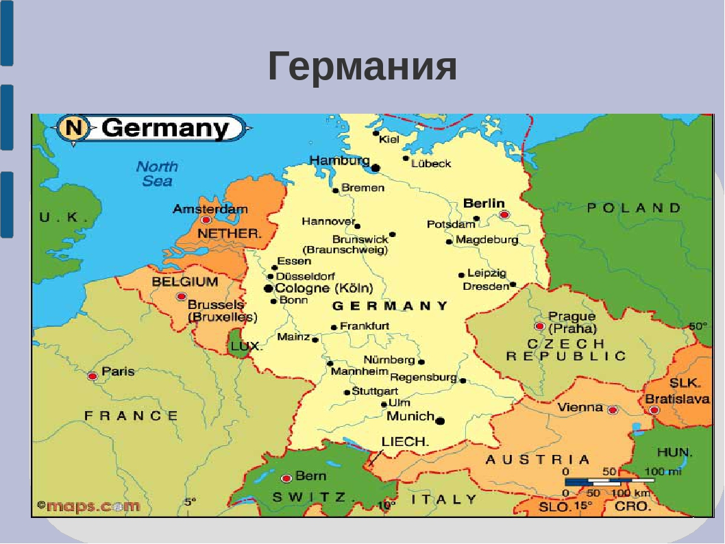 an overview of the country of germany Germany, (officially: the federal republic of germany german: bundesrepublik deutschland) is the largest country in central europeit is bordered to the north by denmark, to the east by poland and the czech republic, to the south by austria and switzerland, and to the west by france, luxembourg, belgium and the netherlands.