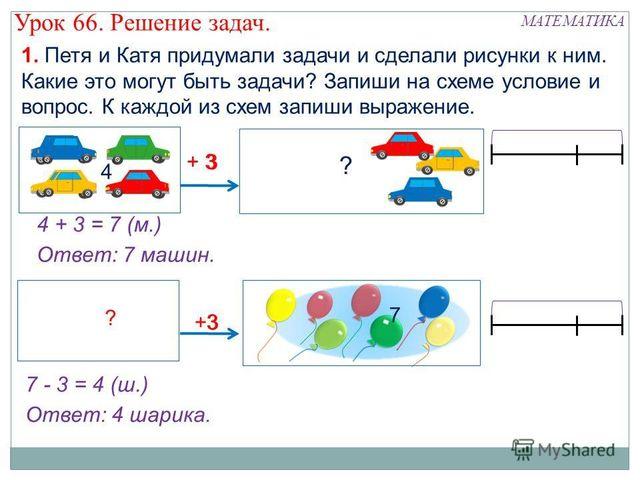 Схема решения задач по математике 1 класс олимпиадные задачи по химии с решениями скачать