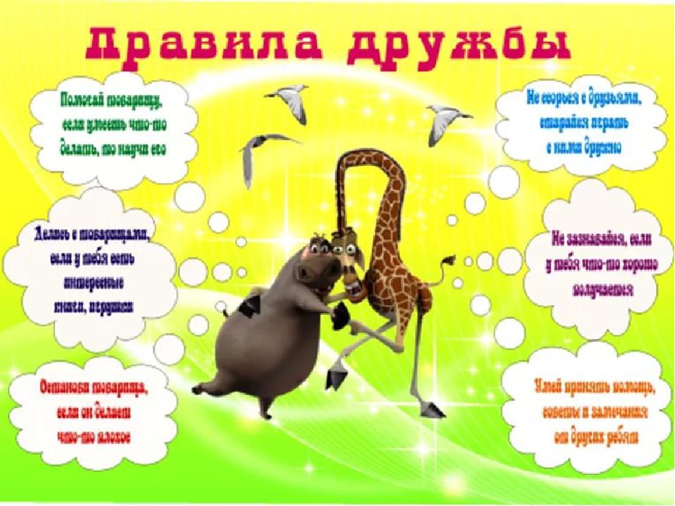 Плакаты в картинках друзьям