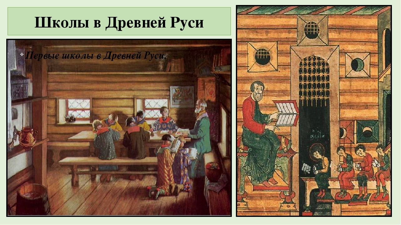 Древнерусская школа картинка