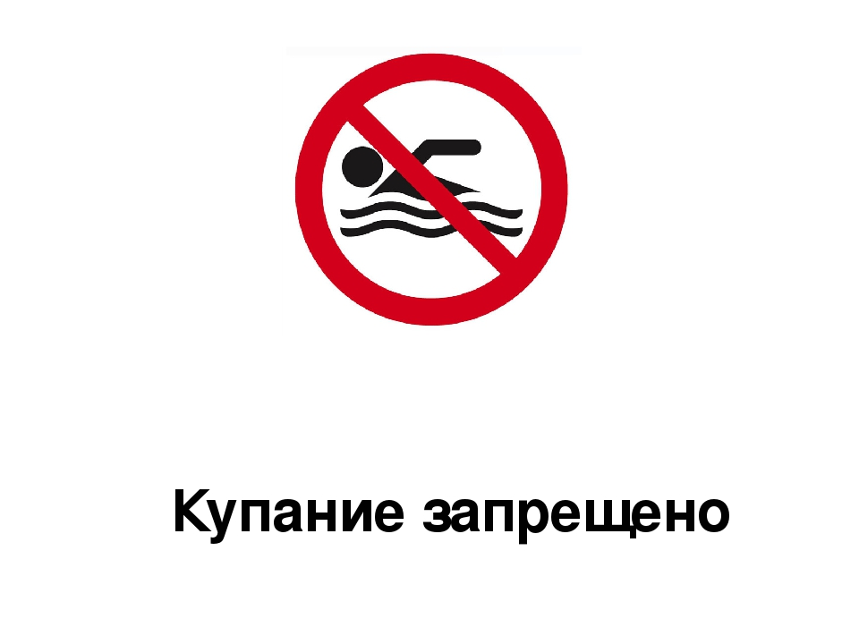 Знак купание запрещено гост 2015 картинка