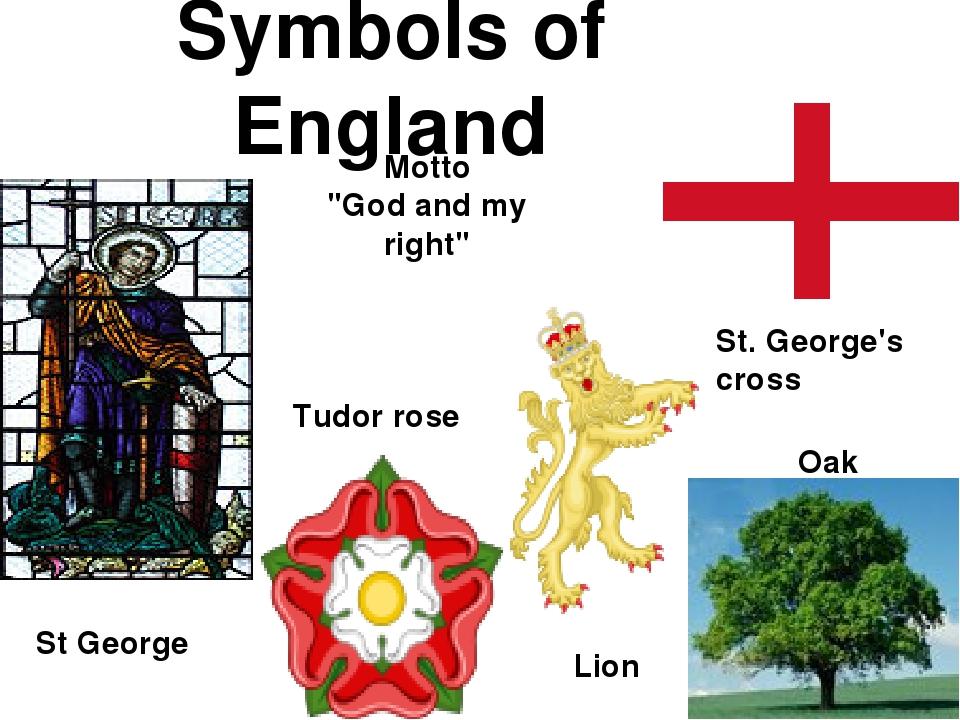 Символ англии фото и как называется