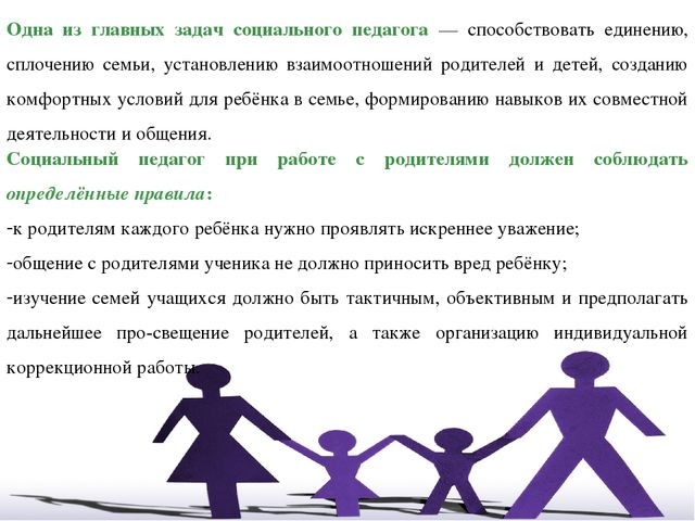 """Презентация """"организация работы социального педагога по социально."""