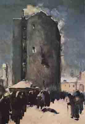 Реферат на тему Изобразительное искусство блокадного Ленинграда  К hello html m650a742d jpg