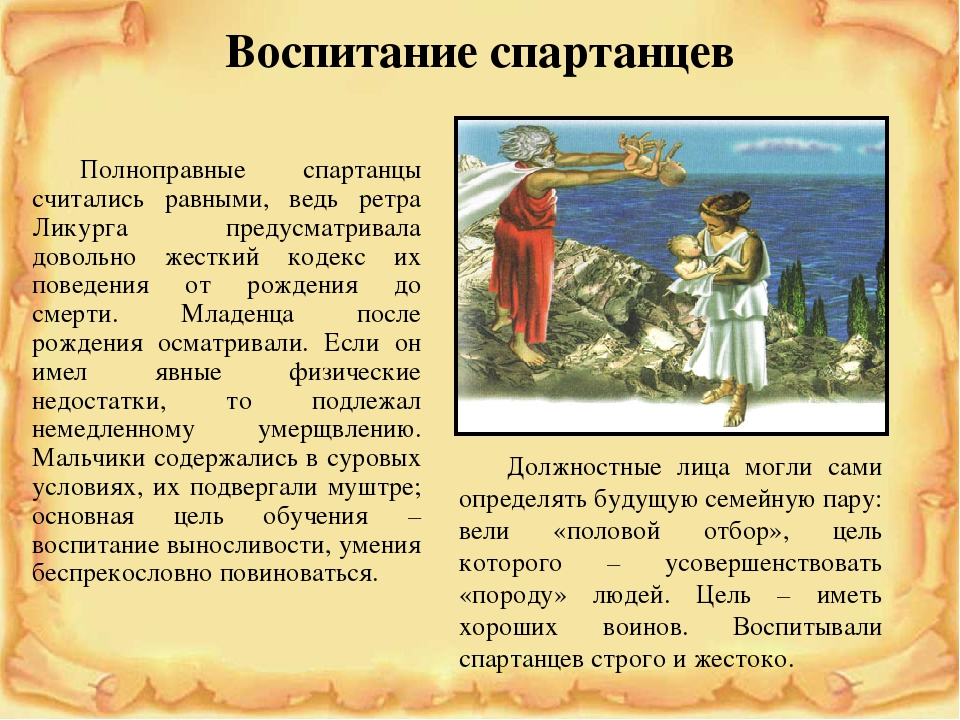 Реферат на тему древняя спарта заключение 5681