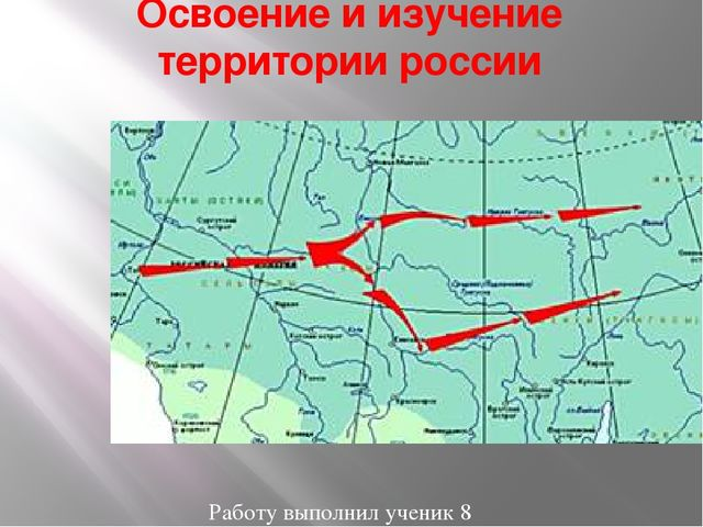Географическое изучение территории россии доклад 7051