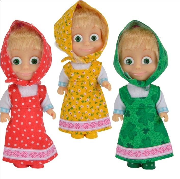 Картинка в гостях у куклы маши является живым