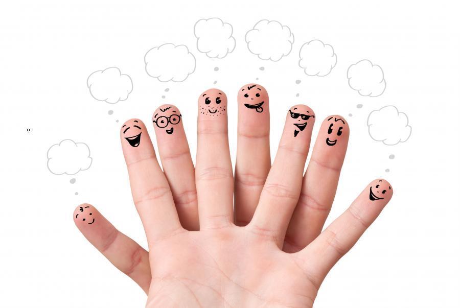 Картинки дети пальчики