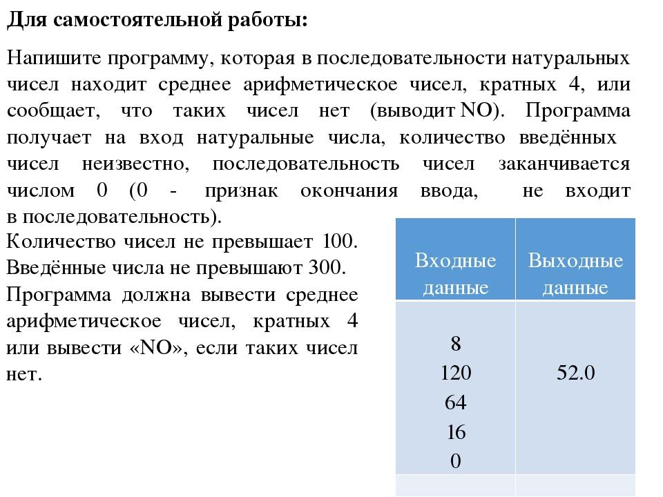 Сумма 100 натуральных чисел одно из которых не больше 100
