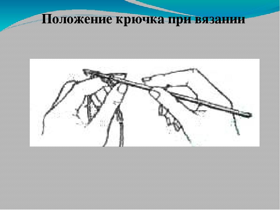 Вязание крючком положение 56