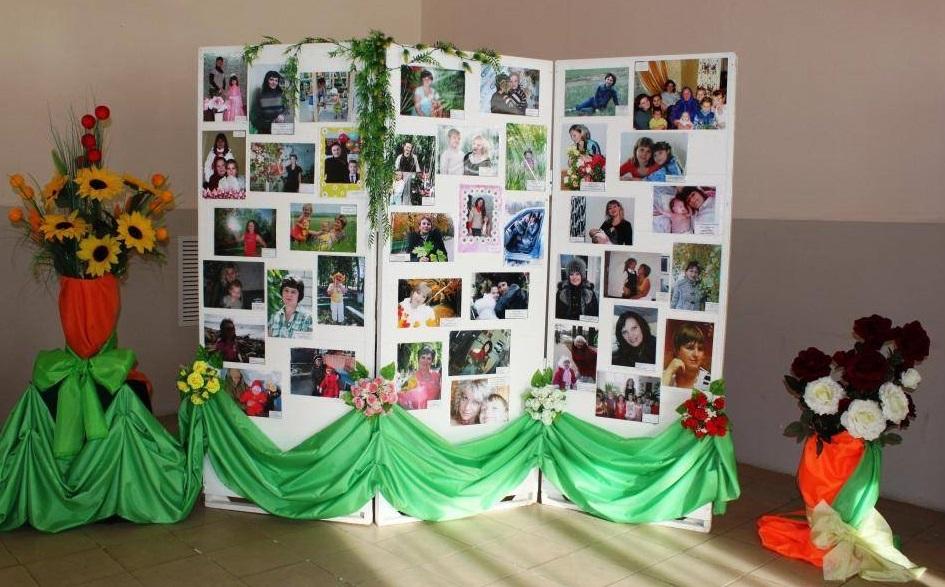 как сделать стенд из фотографий на юбилей каждому клиенту