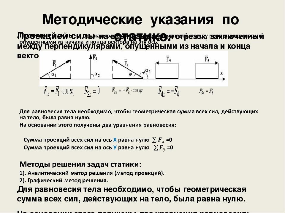 Методика решения задач статика задачи с равнобедренным треугольником с решением