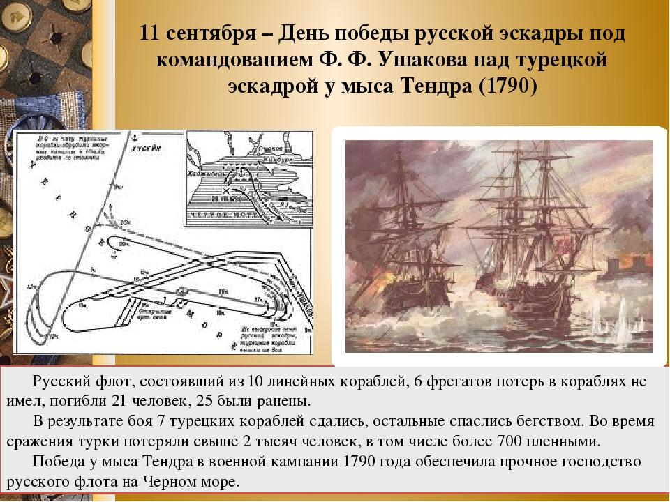 ПЛАН-КОНСПЕКТ НА ТЕМУ ДЕНЬ ПОБЕДЫ РУССКОЙ ЭСКАДРЫ У МЫСА ТЕНДРА 1790 СКАЧАТЬ БЕСПЛАТНО