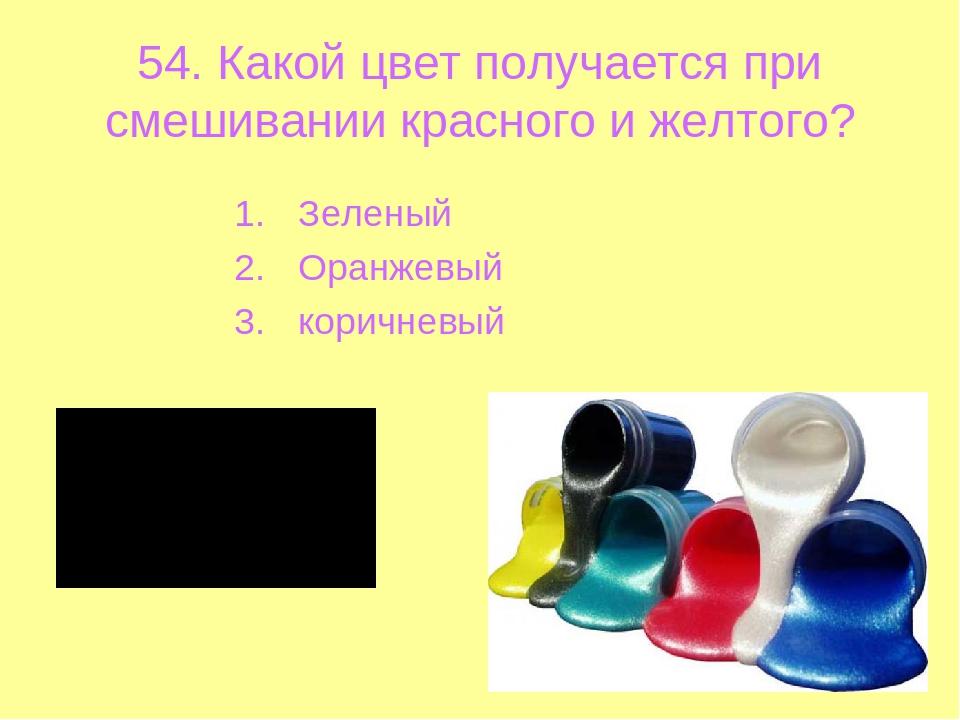 какой цвет получится при смешивании зеленоватого и голубого цвета