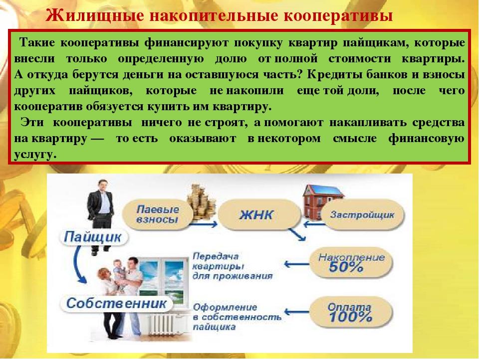 потребительский жилищно накопительный кооператив минусы категории менеджер Хмельнике
