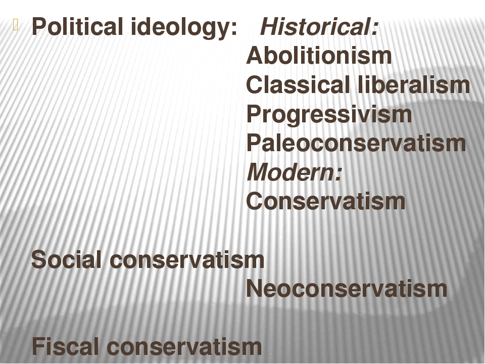 political ideology liberalism essay Political culture – the widely shared beliefs, values, and norms about how citizens relate to governments and to one another social capital – democratic and civic habits of discussion, compromise, and respect for differences, which grow out of participation in voluntary organizations natural rights – the rights of all people to dignity and worth.