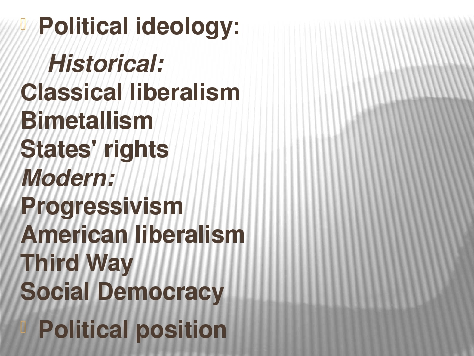 political ideology liberalism essay Essays politics the common definition of liberalism is an ideology that takes on liberty as a first political value, a tradition of politics and a belief in the importance of equality as in any ideology, liberalism has its own problems in itself firstly in liberalism the existence of individuals are.