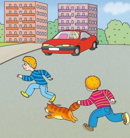 дорогах картинки для ситуациями детей с на