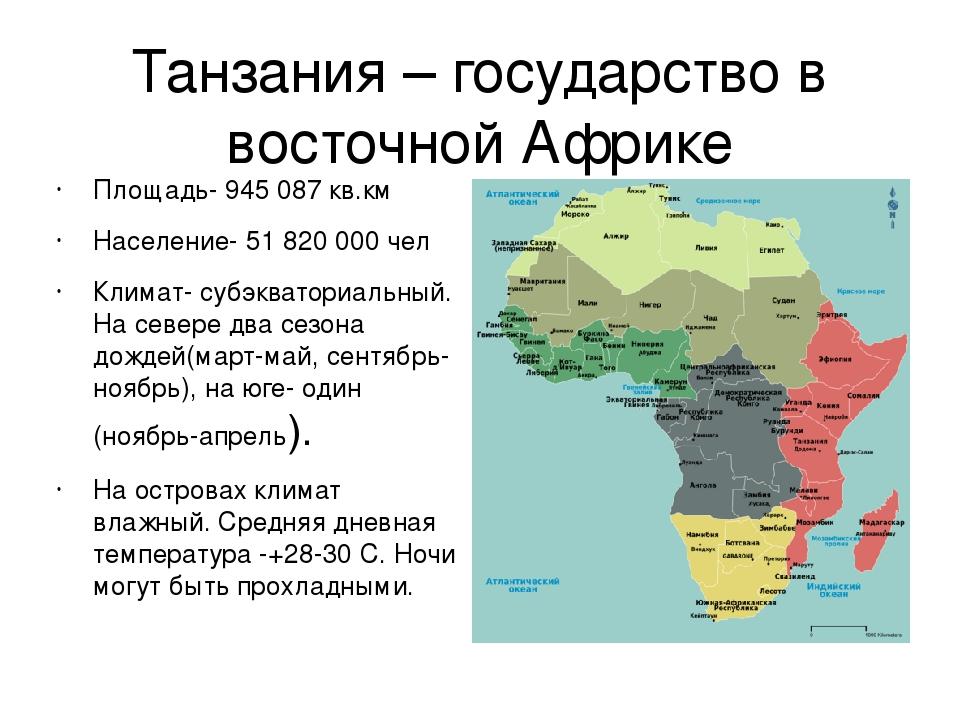 Страны африки картинки с текстом