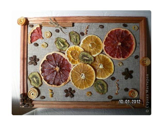Картины из пуговиц для кухни