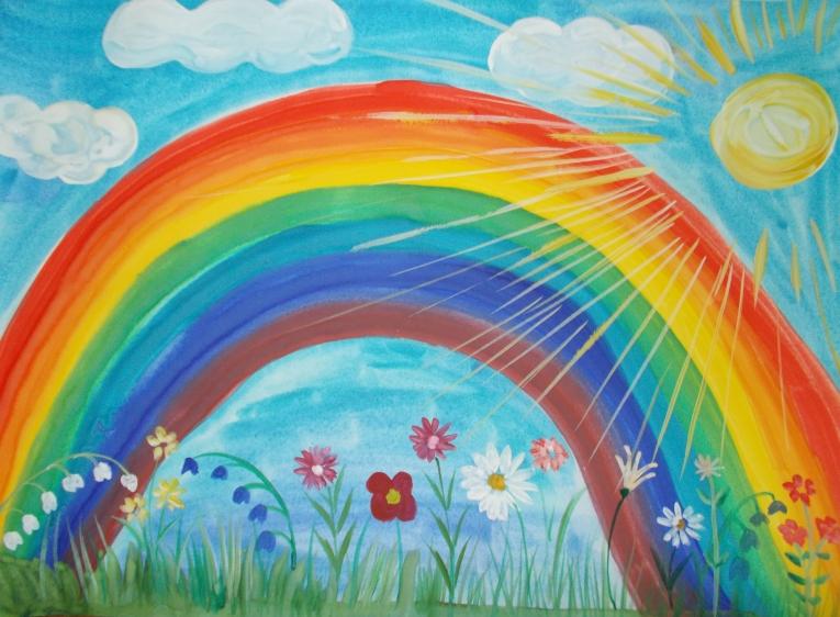 Картинки на тему король радуги