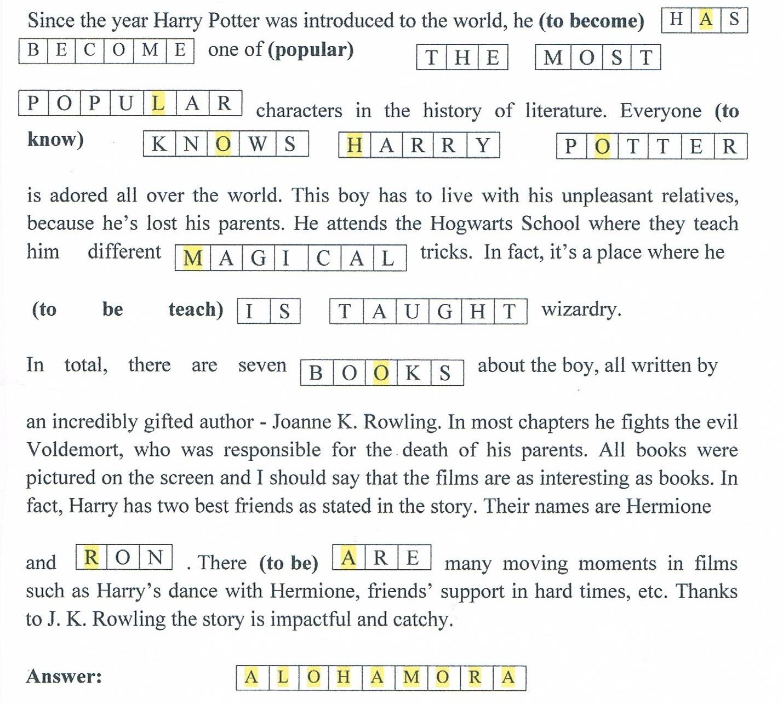 harry potter kollegie test